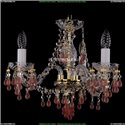 1410/3/141/G/V7010 Хрустальная подвесная люстра Bohemia Ivele Crystal