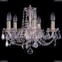 1402/5/141/G/Leafs Хрустальная подвесная люстра Bohemia Ivele Crystal (Богемия)