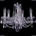 1402/5/141/Ni Хрустальная подвесная люстра Bohemia Ivele Crystal