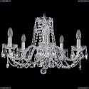 1402/5/195/Ni Хрустальная подвесная люстра Bohemia Ivele Crystal
