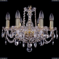 1402/6/141/G Хрустальная подвесная люстра Bohemia Ivele Crystal