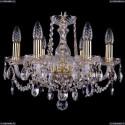 1402/6/141/G Хрустальная подвесная люстра Bohemia Ivele Crystal (Богемия)