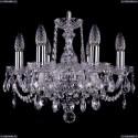 1402/6/141/Ni Хрустальная подвесная люстра Bohemia Ivele Crystal
