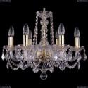 1402/6/160/G/Leafs Хрустальная подвесная люстра Bohemia Ivele Crystal (Богемия)