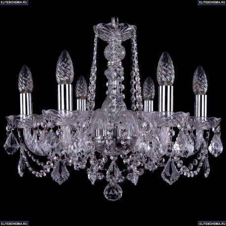 1402/6/160/Ni/Leafs Хрустальная подвесная люстра Bohemia Ivele Crystal