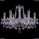 1402/6/195/Ni Хрустальная подвесная люстра Bohemia Ivele Crystal