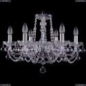1402/6/195/Ni/Balls Хрустальная подвесная люстра Bohemia Ivele Crystal