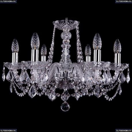 1402/6/195/Ni/Leafs Хрустальная подвесная люстра Bohemia Ivele Crystal