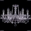 1402/6/195/Ni/Leafs Хрустальная подвесная люстра Bohemia Ivele Crystal (Богемия)