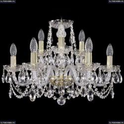 1402/6+3/195/G Хрустальная подвесная люстра Bohemia Ivele Crystal