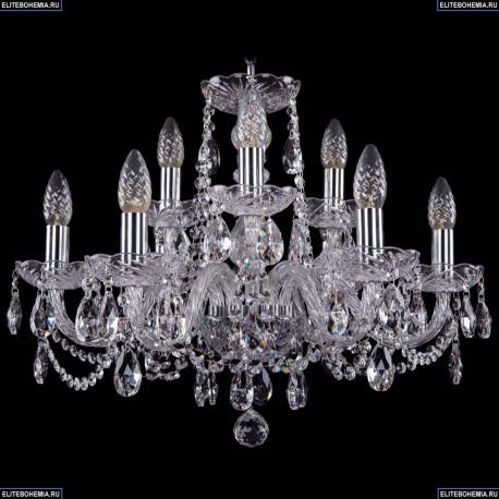 1402/6+3/195/Ni Хрустальная подвесная люстра Bohemia Ivele Crystal (Богемия)
