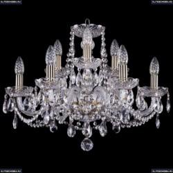 1402/6+3/195/Pa Хрустальная подвесная люстра Bohemia Ivele Crystal