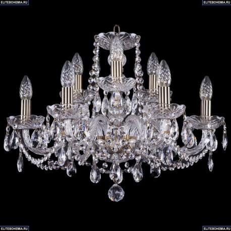 1402/6+3/195/Pa Хрустальная подвесная люстра Bohemia Ivele Crystal (Богемия)