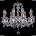 1402/8/160/Pa Хрустальная подвесная люстра Bohemia Ivele Crystal