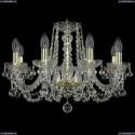 1402/8/195/G/Balls Хрустальная подвесная люстра Bohemia Ivele Crystal (Богемия)