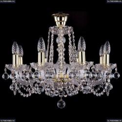 1402/8/195/G/Balls/Tube Хрустальная подвесная люстра Bohemia Ivele Crystal