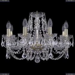 1402/8/195/G/Leafs Хрустальная подвесная люстра Bohemia Ivele Crystal