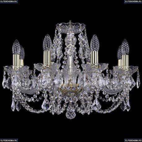 1402/8/195/G/Leafs Хрустальная подвесная люстра Bohemia Ivele Crystal (Богемия)