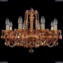 1402/8/195/G/M711 Хрустальная подвесная люстра Bohemia Ivele Crystal