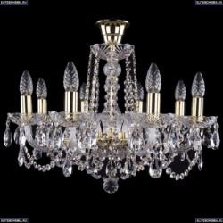 1402/8/195/G/tube Хрустальная подвесная люстра Bohemia Ivele Crystal