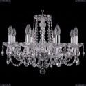 1402/8/195/Ni Хрустальная подвесная люстра Bohemia Ivele Crystal (Богемия)