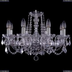 1402/8/195/Ni/Leafs Хрустальная подвесная люстра Bohemia Ivele Crystal