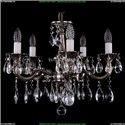1702/5/CK175IV/A/NB Хрустальная подвесная люстра Bohemia Ivele Crystal