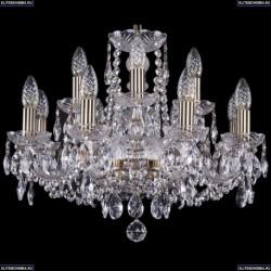 1402/8+4/195/Pa Хрустальная подвесная люстра Bohemia Ivele Crystal