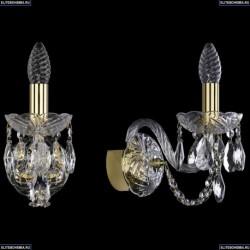1402B/1/141/G Хрустальное бра Bohemia Ivele Crystal