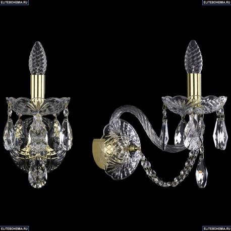 1402B/1/195/XL/G Хрустальное бра Bohemia Ivele Crystal