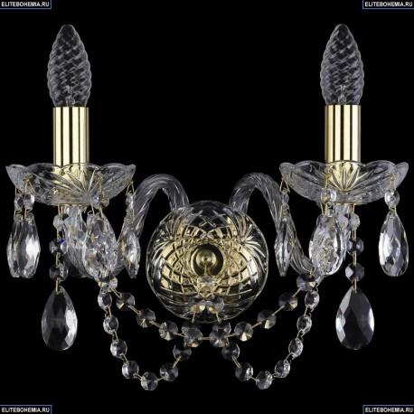 1402B/2/141/G Хрустальное бра Bohemia Ivele Crystal