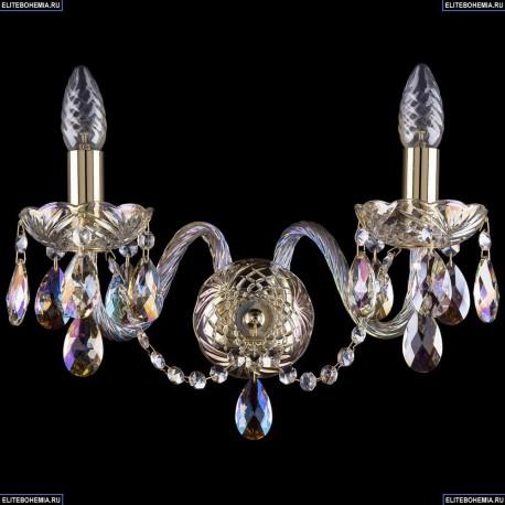 1402B/2/160/G/M701 Хрустальное бра Bohemia Ivele Crystal