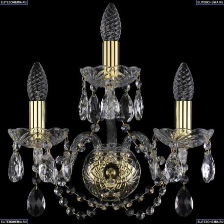 1400/3/G Хрустальное бра Bohemia Ivele Crystal (Богемия)