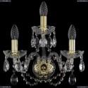 1402B/2+1/141/G Хрустальное бра Bohemia Ivele Crystal