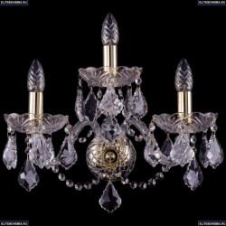 1400/3/165/G/Leafs Хрустальное бра Bohemia Ivele Crystal (Богемия)