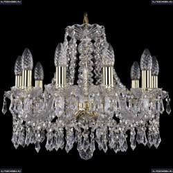 1403/10/160/G Хрустальная подвесная люстра Bohemia Ivele Crystal