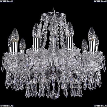 1403/10/160/Ni Хрустальная подвесная люстра Bohemia Ivele Crystal
