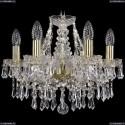 1403/6/141/G Хрустальная подвесная люстра Bohemia Ivele Crystal