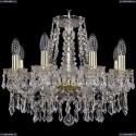 1403/8/160/G Хрустальная подвесная люстра Bohemia Ivele Crystal