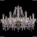 1403/8/240/G Хрустальная подвесная люстра Bohemia Ivele Crystal
