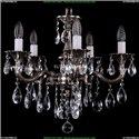 1701/5/B/NB Хрустальная подвесная люстра Bohemia Ivele Crystal (Богемия)