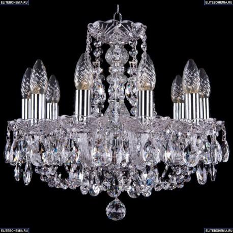 1406/10/141/Ni Хрустальная подвесная люстра Bohemia Ivele Crystal