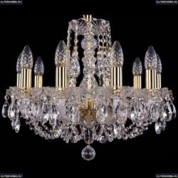 1406/10/160/G Хрустальная подвесная люстра Bohemia Ivele Crystal