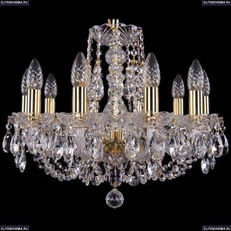 1406/10/160/G Хрустальная подвесная люстра Bohemia Ivele Crystal (Богемия)