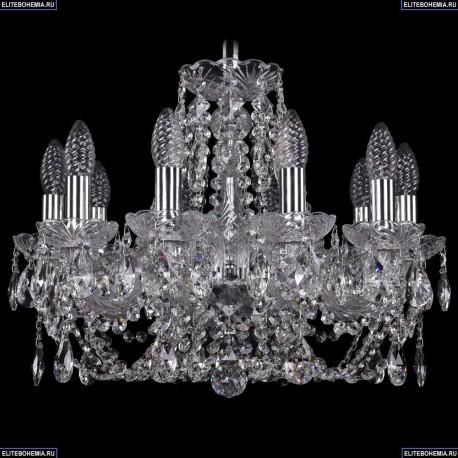 1406/10/160/Ni Хрустальная подвесная люстра Bohemia Ivele Crystal