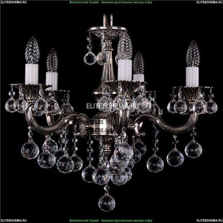 1701/5/B/NB/Balls Подвесная люстра Bohemia Ivele Crystal (Богемия)