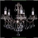 1701/5/181/B/NB/Balls Хрустальная подвесная люстра Bohemia Ivele Crystal