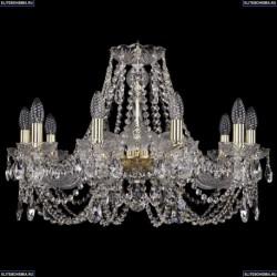 1406/10/240/G Хрустальная подвесная люстра Bohemia Ivele Crystal