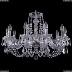 1406/10/240/Ni/Leafs Хрустальная подвесная люстра Bohemia Ivele Crystal