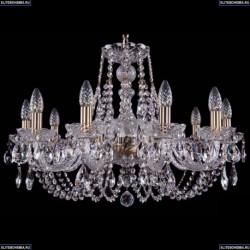 1406/10/240/Pa Хрустальная подвесная люстра Bohemia Ivele Crystal (Богемия)